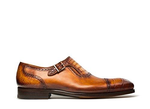 Magnanni Madrid Cuero Mens Monk Strap Shoes Cuero eDEUl