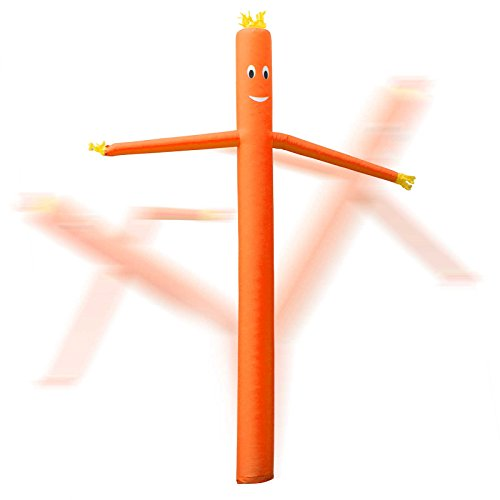 Inflatable HQ 20 ft. Tall Air Inflatable Dancer Tube Puppet - Orange (Blower Not Included) Photo #3