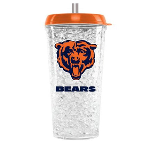 NFL Chicago Bears Crystal Freezer Tumbler with - Outlet Chicago Mall In Stores