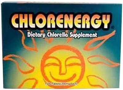 Chlorenergy Chlorella, 1500 Count