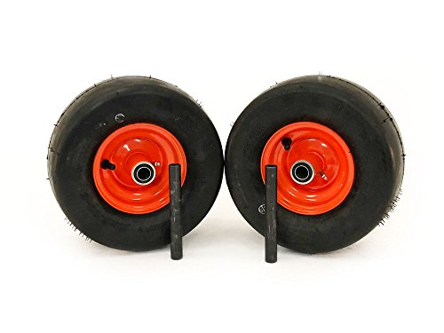 MowerPartsGroup (2) Bad Boy Pneumatic Wheel Assemblies 11x6.00-5 Fits MZ Magnum Repl 022-8049-00