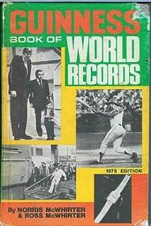 guinness book of world records 1976 ross mcwhirter norris