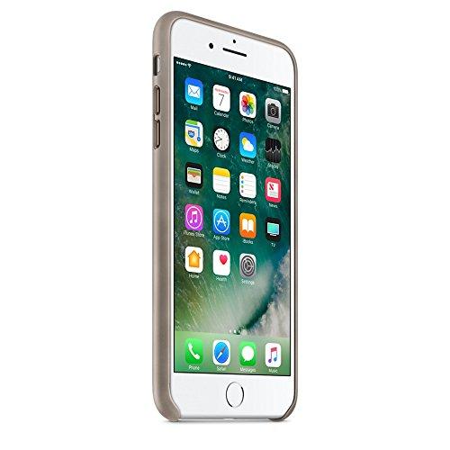 Apple MPTC2ZM/A Leder Schutzhülle für iPhone 7 Plus taupe