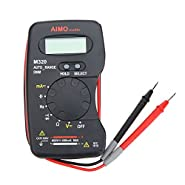 KKmoon AIMO M320 Pocket Size Handheld LCD Digital Multimeter DMM Frequency Capacitance Measurement Data Hold Auto Range