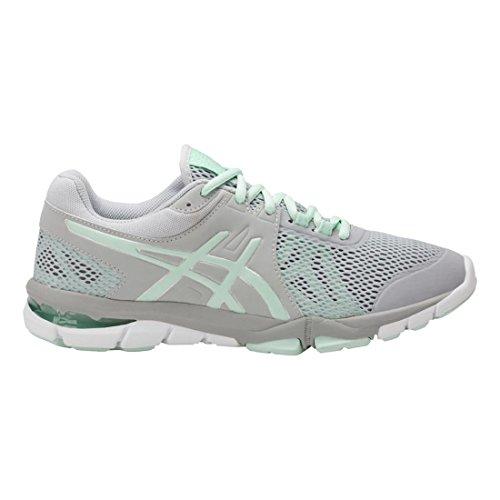Trainer Womens Shoes - ASICS Women's Gel-Craze TR 4 Cross-Trainer-Shoes, Mid Grey/Glacier Sea/Silver, 8 Medium US