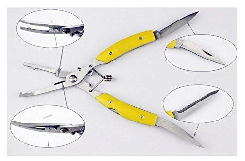 Alicates multiherramienta para pesca con dos navajas de ...