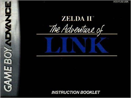 The Legend Of Zelda Ii The Adventure Of Link Gba Instruction