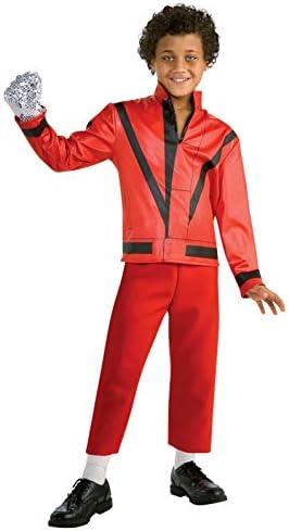 Amazon.com: Chamarra roja de Thriller de Michael Jackson ...