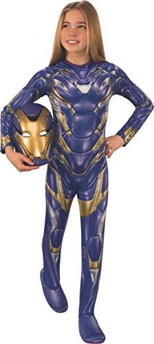 Girls Iron Man Costume (Rubie's Marvel: Avengers Endgame Child's Armored Costume & Mask,)