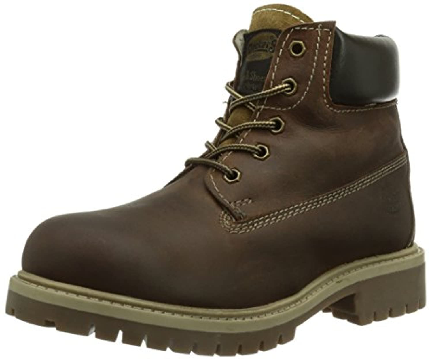 Dockers 358402-007636 , Unisex-Child Boots, Brown (Braun 636), 1 UK