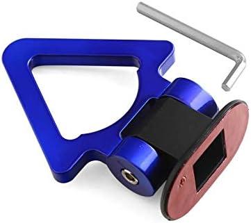 Color : Triangle Silver IENPAJNEPQN Universale ABS Adesivo Auto orna Auto Simulazione Tralier Tow Hook Kit della Cinghia di Traino della Vettura//funi di Traino//Gancio//rimorchio Bar