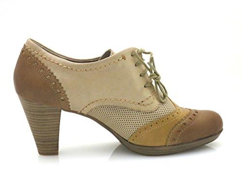 Lacets Marco Femme Chaussures Cuir À Tozzi En Escarpins 23304 Semelles Compensées rqqztn