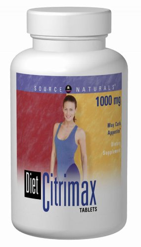 Source Naturals CitriMax (Diète) 1000mg, 90 comprimés