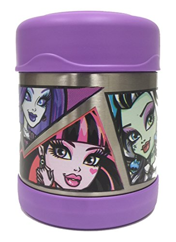 Thermos 10-Ounce Funtainer Food Jar, Monster (Ghoulia From Monster High)