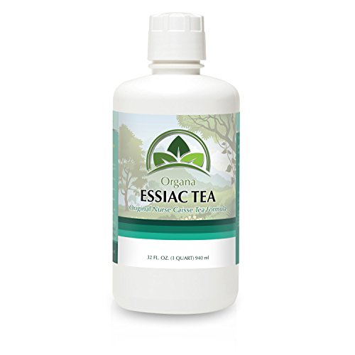THE BEST Essiac Tea - Certified Organic - Essiac Tea the Native Herbal Remedy - (1 qt 32 Fl Oz.) - Organa Essiac Tea - incensecentral.us