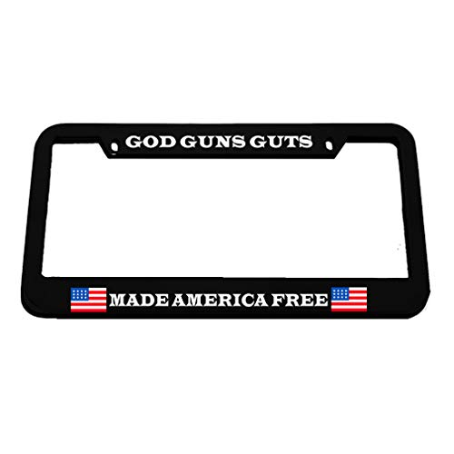 license plate frame pro gun - 3