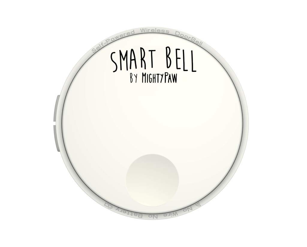 Mighty Paw Smart Bell 2.0 Receiver ONLY Add On, Extra Receiver Piece for Your Smart Bell 2.0 Set (White, Receiver Only)