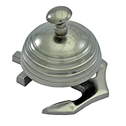 Brass Nautical Brass Call Bell Table Bell on Anchor - Marine Nautical Decor