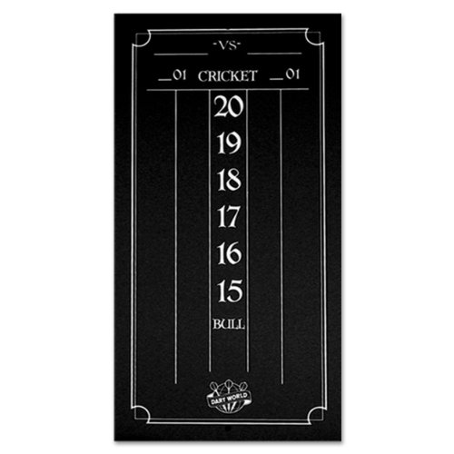 Dart World Cricketeer Mini Scoreboard, Black by Dart World