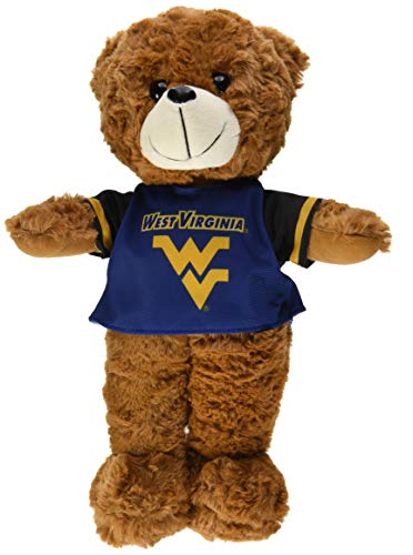 West Virginia 2015 Large Fuzzy Uniform Bear by FOCO