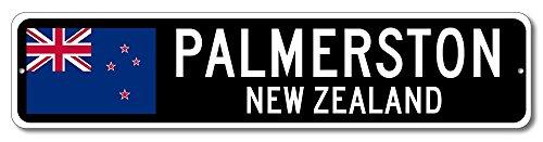 New Zealand Flag Sign - PALMERSTON, NEW ZEALAND - Kiwi Custom Flag Sign - 6