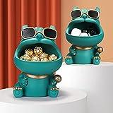 Yinrunx Dog Big Mouth Key Storage Box, Candy Dish