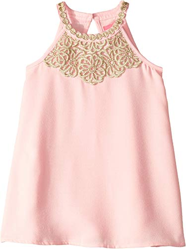Lilly Pulitzer Kids Baby Girl's Mini Pearl Shift (Toddler/Little Kids/Big Kids) Coral Reef Tint 4 US Little Kid