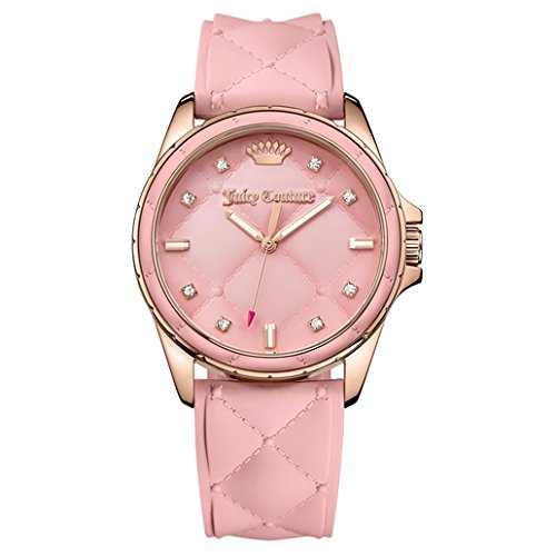 Juicy Couture Women's 1901371 Malibu Analog Display Japanese Quartz Pink Watch
