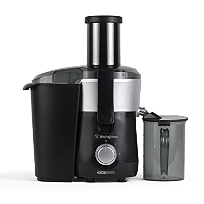 Westinghouse WJE2BSLA Select Series 2 Speed Fruit & Vegetable Juice Extractor with Custom Pitcher - Amazon Exclusive
