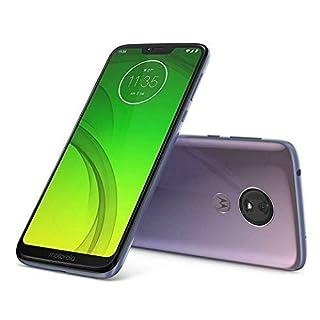 "Motorola Moto G7 Power (64GB + 64GB MicroSD) Dual SIM 6.2"" (GSM Only) Factory Unlocked Smartphone - US & Global 4G LTE International Model XT1955-2(Violet, SD Bundle)"