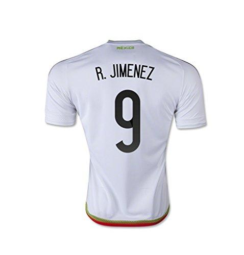 汚染された突き刺す杭adidas R. JIMENEZ #9 Mexico Away Jersey 15/16- Youth/サッカーユニフォーム メキシコ アウェイ用 2015-16 R. ヒメネス 背番号9 ジュニア向け