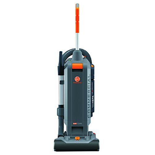"HushTone Vacuum Cleaner, 13"", Orange/Gray"