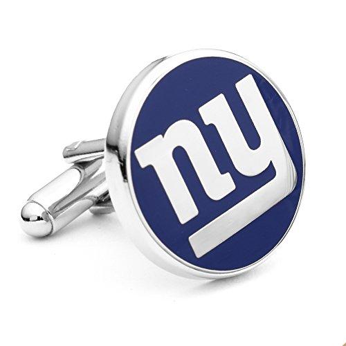 Cufflinks Inc. Men's NFL¿ New York Giants Cufflinks Blue One -
