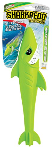 Prime Time Toys Diving Masters Sharkpedo, Shark pool, Underwater Glider Toy, torpedo -