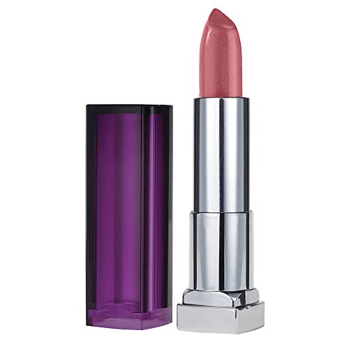 Maybelline New York Color Sensational Nude Lipstick Satin Lipstick, On the Mauve, 0.15 oz.
