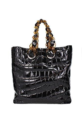 Shoulder Bags Miu Woman Miu 5bg017alligatorcire Black qfY8P