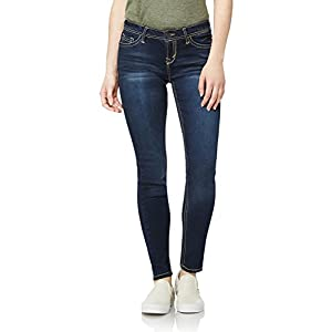WallFlower Women's Juniors Irresistible Denim Jegging Jeans (28-30-32″ Inseam)
