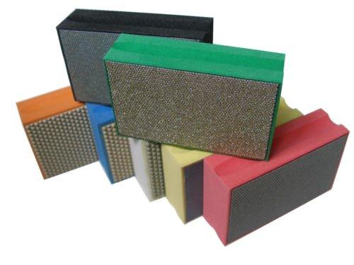 Gogad Diamond Hand Polishing Pad/Pads Set (7 pcs)