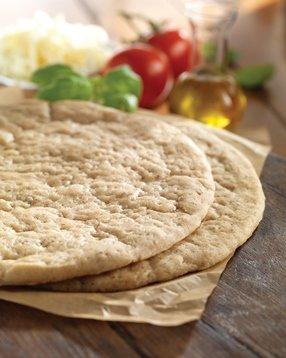"""Smart Flour Ancient Grains Pizza Crusts, 12"""", Gluten Free/Vegan (12 count) -  Smart Flour Frozen"""