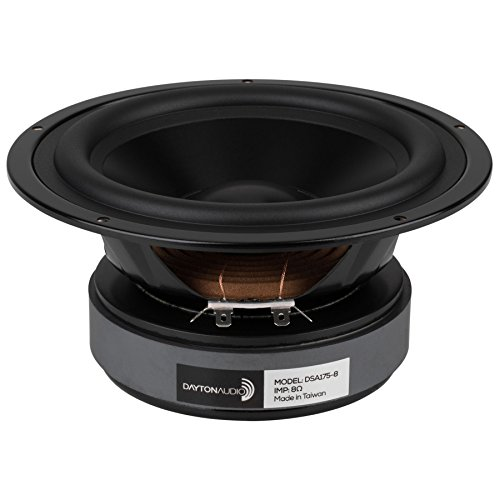 Dayton Audio DSA175-8 6-1/2 Designer Series Aluminum Cone Woofer by Dayton Audio