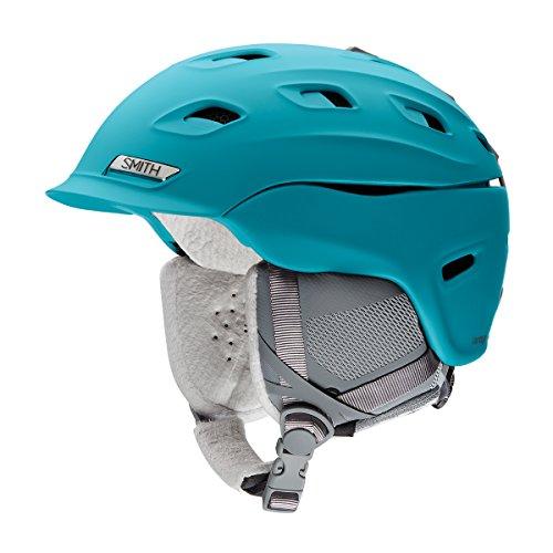 Smith Optics Vantage Womens Ski Snowmobile Helmet - Matte Mineral / Medium