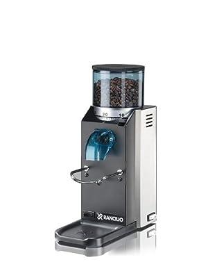 Rancilio Rocky Espresso Grinder - Doserless - Black 20th Anniversary Limited Edition