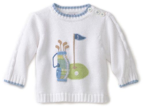 Kitestrings Baby-Girls Newborn Golf Motif Sweater