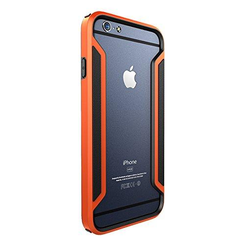 (HS-TOP  ® NILLKIN Case Cover Frame Conque, Rand Slim Armor Hülle für APPLE iPhone 6 (4.7 Zoll), Orange