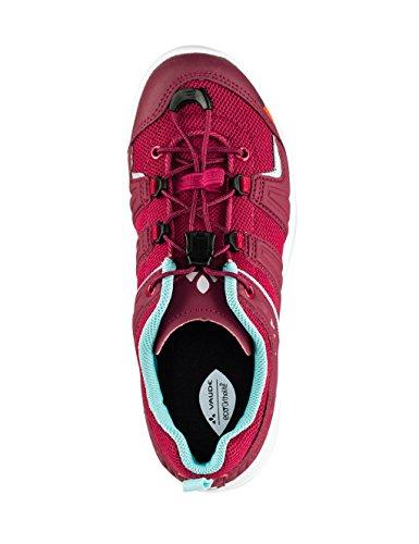 VAUDE Kids leeway II - Zapatillas de Deporte Exterior Niñas Rosa (Grenadine)