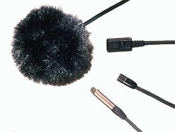 Nouvelle prix le plus bas sélectionner pour véritable Simple Noir Fourrure pare-brise/Bonnette anti-vent pour ...