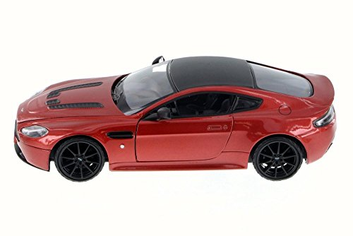 Motor Max Aston Martin V12 Vantage S Coupe, Red 79322L - 1/24 Scale Diecast Model Toy Car but NO BOX ()