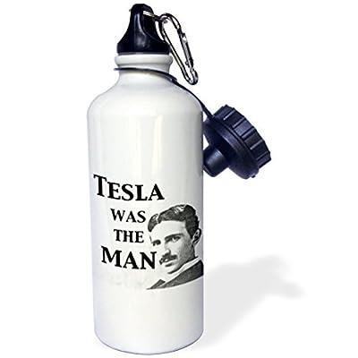 Statuear Tesla A été l'homme en aluminium 567gram Bouteille d'eau 600ml Cadeau