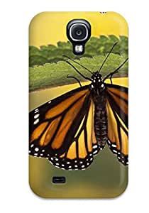 For ZmignND11039axRTS Common Tiger Buttefly Protective Case Cover Skin/galaxy S4 Case Cover