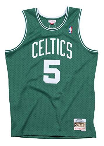 Mitchell & Ness Boston Celtics Kevin Garnett 2007 Road Swingman Jersey (Medium)